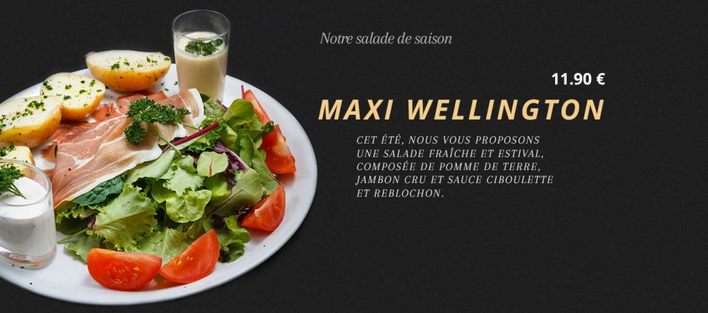 Salade maxi wellington